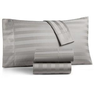 2 Charter Club Damask Stripe Standard Pillowcases